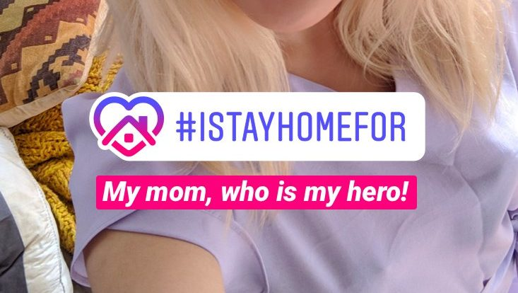 Instagram Launches New 'I Stay Home For' Sticker