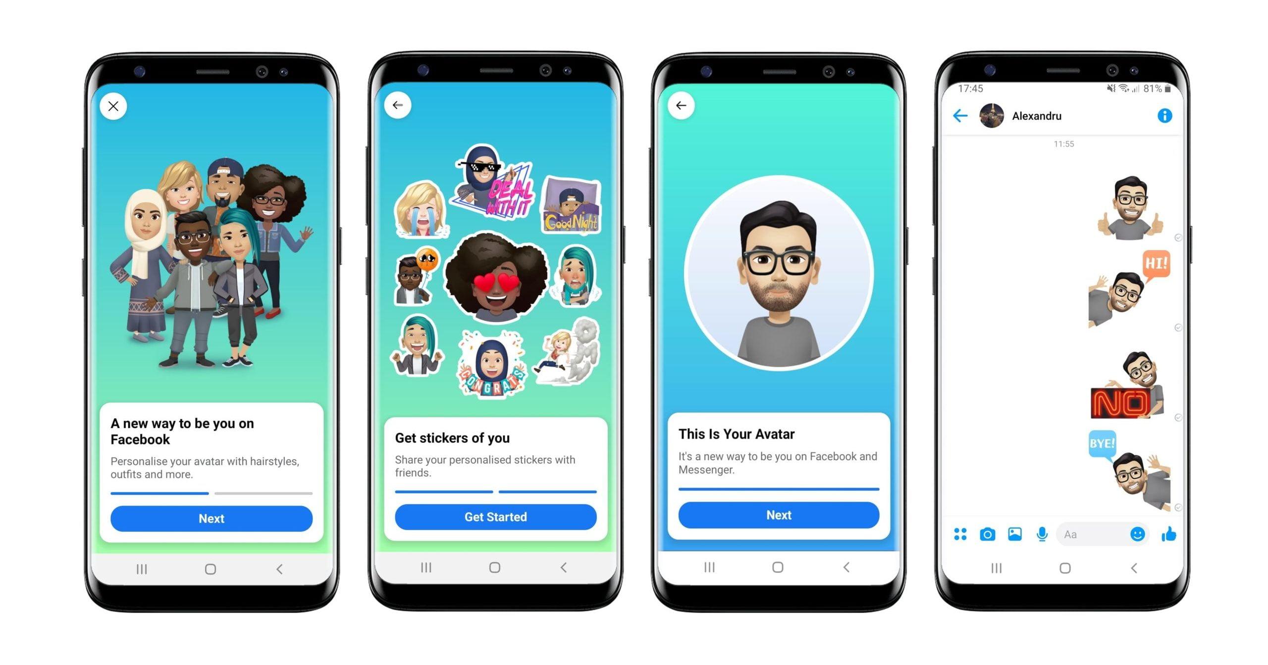 Facebook Expands Access to its Cartoonish 'Avatars'