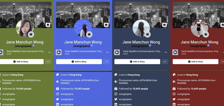 Facebook Testing Color Backgrounds for Profiles