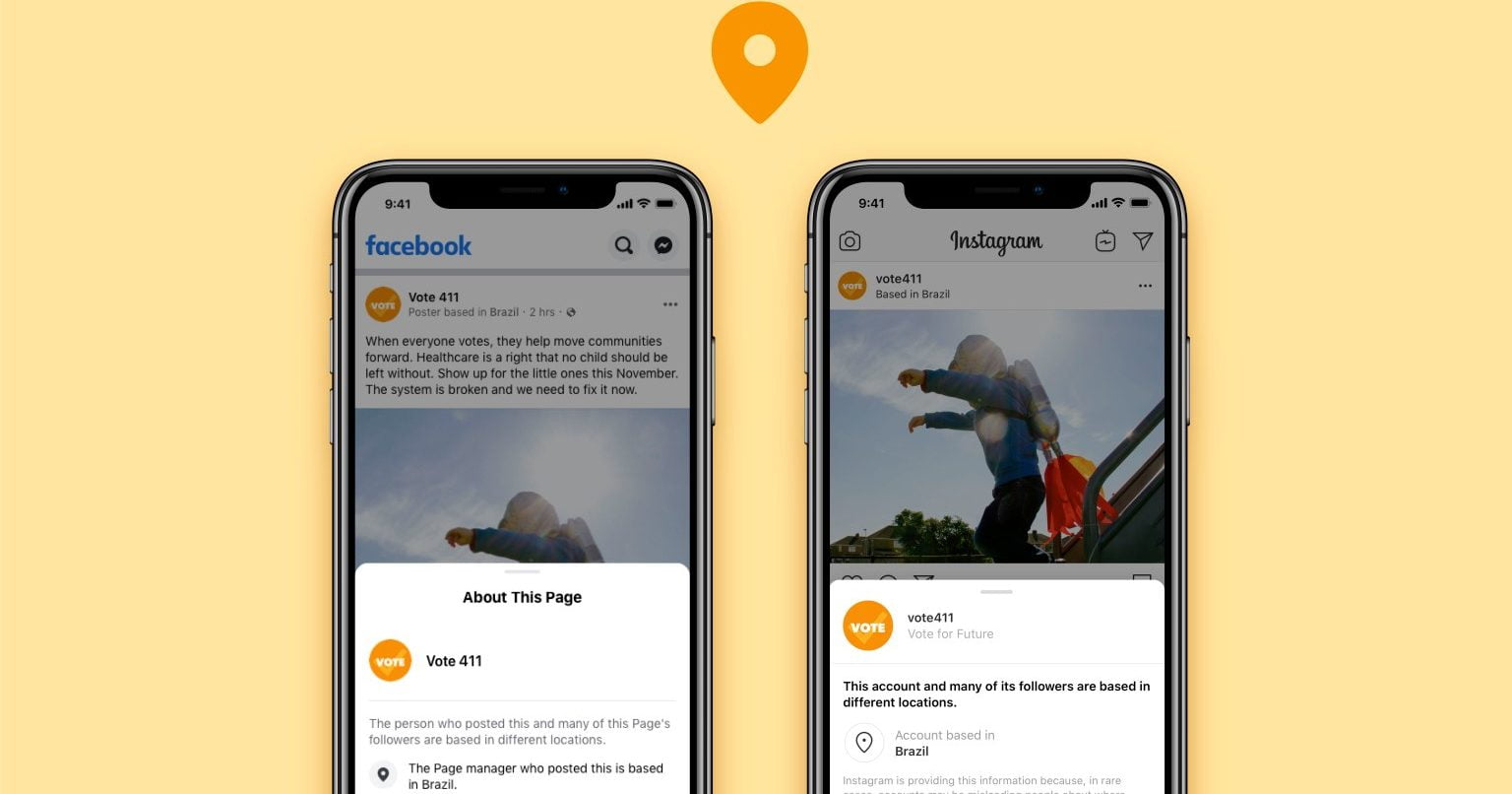 Facebook and Instagram adds Account Transparency Tools