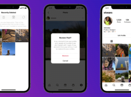 Instagram adds 'recently deleted' to protect your posts from hackers