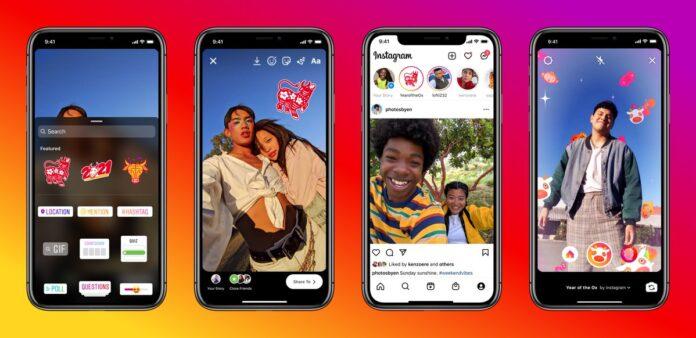 Instagram and Facebook Celebrating Lunar New Year