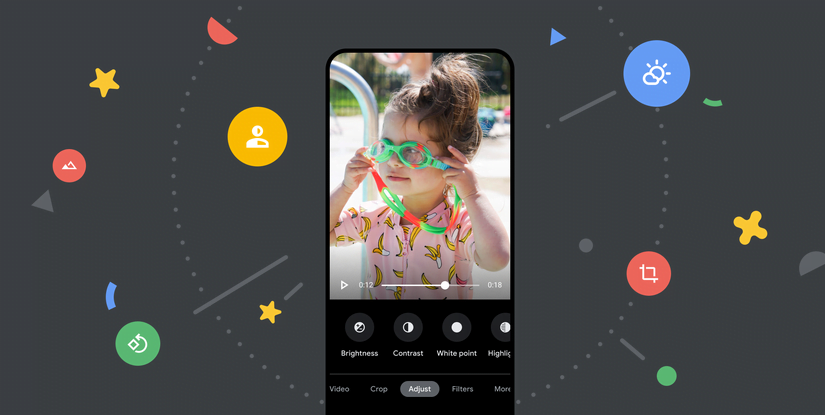 A new video editor, plus enhanced editing features